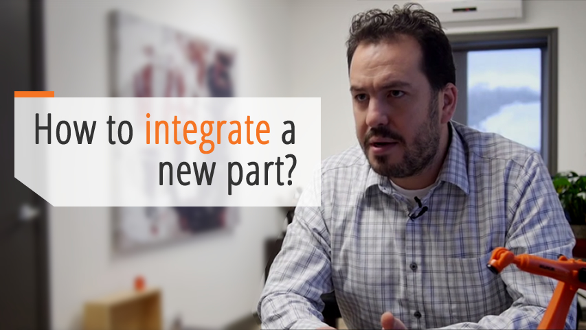 How to integrate new part